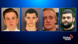 Search for four young men missing in Pennsylvania continues amid arrest