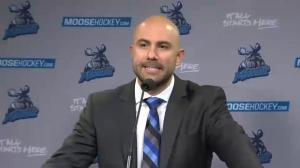 Pascal Vincent talks about new position as head coach for Manitoba Moose