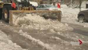 NDG water main break wreaks commuter havoc