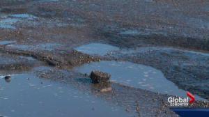 Pothole season comes early