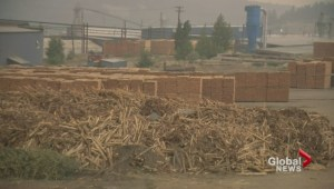 Forest fires affect lumber supply in B.C.