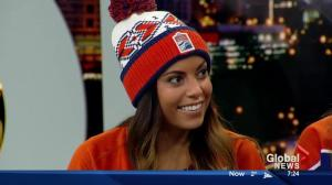 Buy a toque for Hockey Fights Cancer at the Edmonton Oilers game