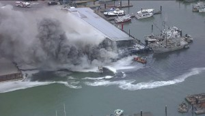 Massive fire at Steveston docks