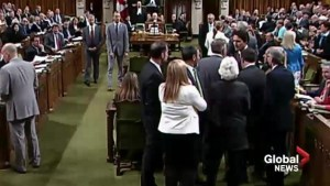 #elbowgate: People react to Trudeau's physical contact with Opposition MPs