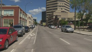 'It's a short-sighted option': Not everyone happy with proposed downtown bike lane