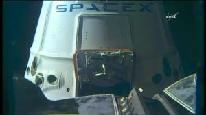 SpaceX rocket arrives at International Space Station