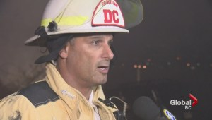 Coquitlam house fire leaves 17 people homeless