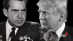 Trump's situation drawing comparisons to Watergate