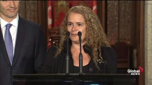 Payette describes role as governor general a 'pleasure'