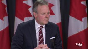 Bank of Canada Governor Stephen Poloz confirms interest rate cut due to falling oil prices