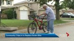 Ajax community donates bike to 84-year-old man who had his stolen