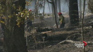 Crews make progress against Okanagan wildfire