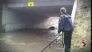 Assessing Kamloops flood damage