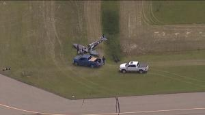 Man injured when home-built plane crashes at Olds-Didsbury Airport