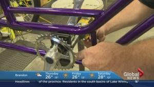Custom-made bike gives Winnipeg teen freedom to just be a kid