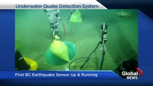B.C.'s first underwater earthquake sensors being placed off Vancouver Island