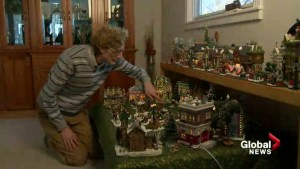 'Mesmerized with little things': Creator of tiny Christmas village admits he's obsessed