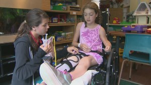 Jennifer Lawrence surprises young fans at Montreal Shriners