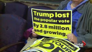 U.S. electoral college votes, likely to elect Donald Trump
