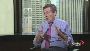 John Tory wants accountability