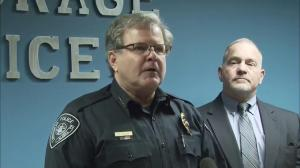 Anchorage Police Department give timeline of Santiago's contact with police