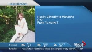 Happy Birthday Montreal
