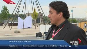 Whitecap Dakota First Nation contributes to War of 1812 monument