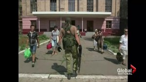 Pro-Russian rebels sour Ukraine's Independence Day celebrations