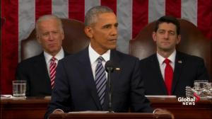 US president ends last SOTU speech by telling Americans he believes in them, the country