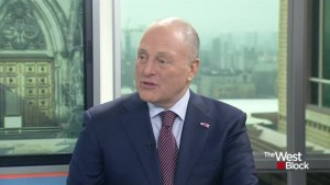 Number one priority for Canada-U.S. relations is a good relationship: Heyman