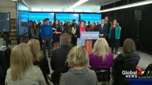 Notley government launches survey to get parental input on what's taught in classrooms