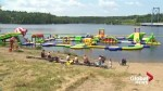 New Brunswickers take in new inflatable water park