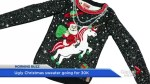 Is this the world's most expensive ugly Christmas sweater?