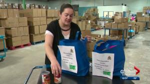 Edmonton Police Service food hampers