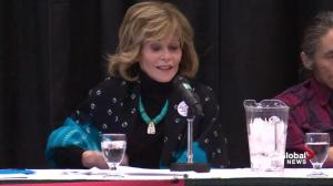 Jane Fonda: The only people in Alberta who are not outsiders are indigenous people