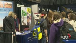 Career fair helps thousands of Okanagan students