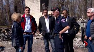 Prime Minister promises Fort McMurray residents they have his government's support
