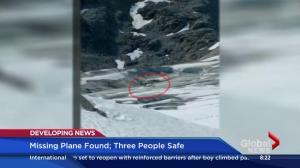 Survivor of missing plane shares incredible story of emergency landing