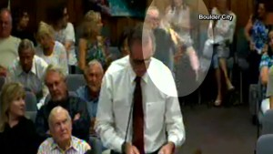 Battery inside woman's purse bursts into flames at Nevada city council meeting