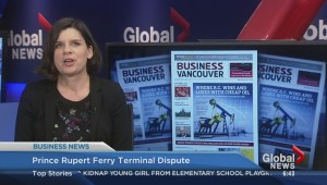 BIV: Prince Rupert  ferry terminal dispute