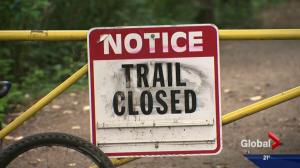 City of Edmonton to assess damage caused to trails by river's high water levels
