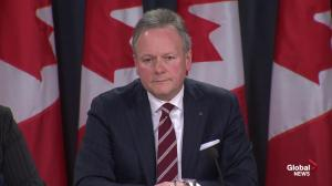 Bank of Canada governor Stephen Poloz doesn't believe the economy has stalled