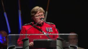 RCMP deputy commissioner offers condolences at Const. David Wynn's funeral