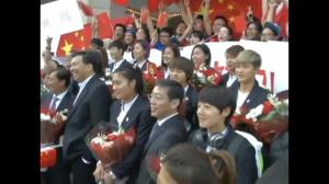 Chinese women's soccer team receives warm welcome in Ottawa