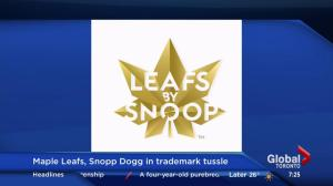 Maple Leafs, Snoop Dogg in trademark tussle