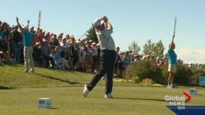 Shaw Charity Classic tees off in Calgary