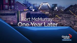 Fort McMurray residents mark 1 year since wildfire
