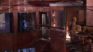 NDG fire forces 5 families from their homes