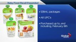 Loblaw Companies Ltd. extends Canada-wide recall on PC Organic baby food pouches