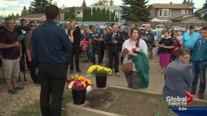 Community walk honours Const. Daniel Woodall